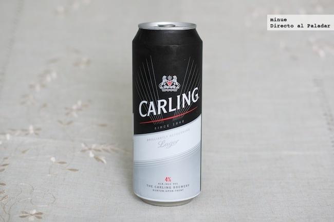 Cata de cerveza carling - 1