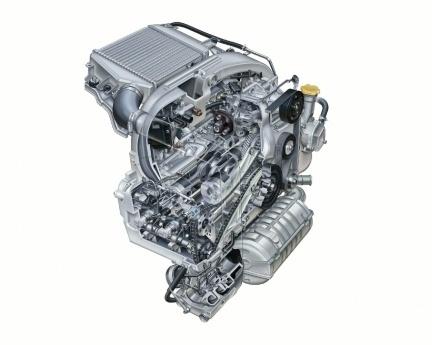 Motor Subaru Boxer Diesel