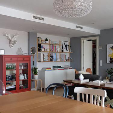 Puertas abiertas: de casa del 'Cuéntame' a vivienda luminosa y de diseño en la que todos querríamos vivir