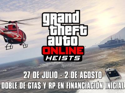 ¡Atención criminales! Hay doble RP y GTA$ esta semana en distintas actividades de GTA Online