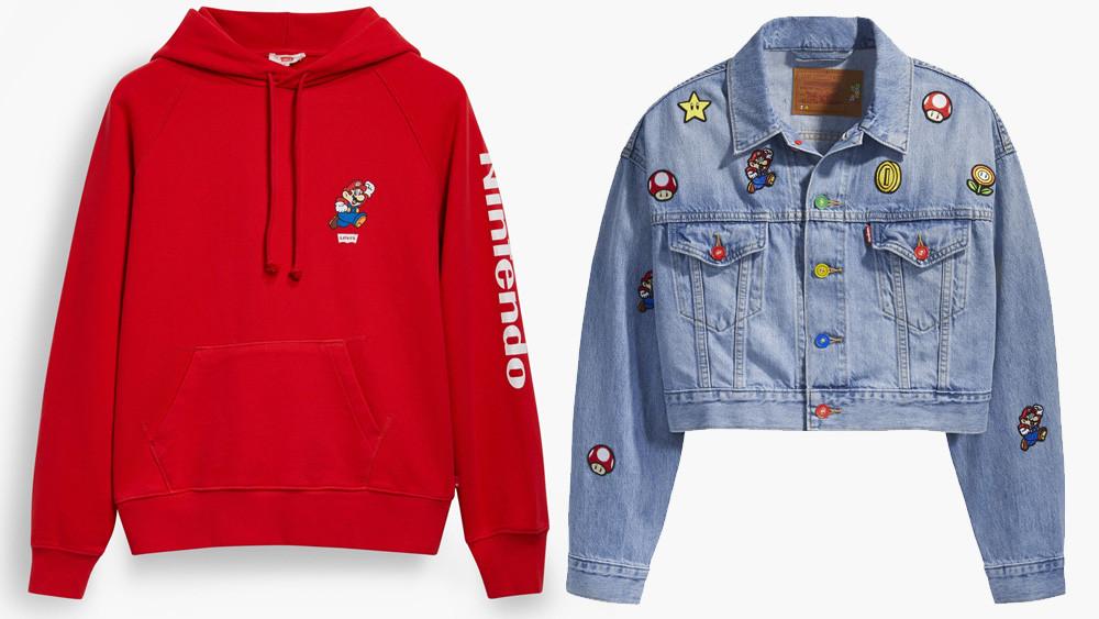 Levi's hace alianza con Nintendo para lanzar ropa de Mario Bros ...