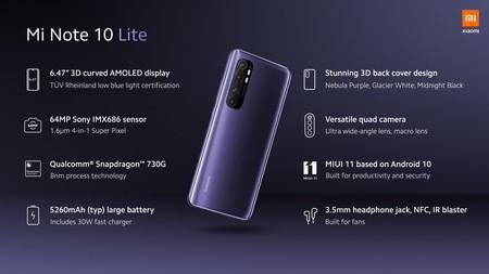 Xiaomi Mi Note 10 Lite 9