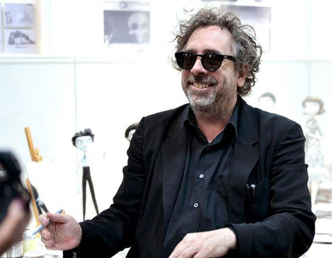 Tim Burton stop motion