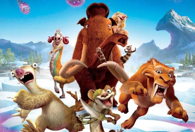 Cartel Ice Age El Gran Cataclismo
