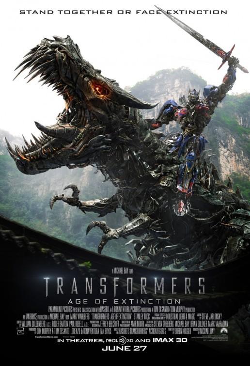 'Transformers: La era de la extinción', carteles