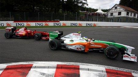 Vitantonio Liuzzi no cree que Force India pueda volver a repetir el resultado de 2009 en Bélgica pero es optimista