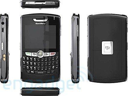 Primeras imágenes del Blackberry 8800