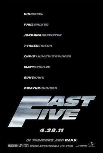 'Fast & Furious 5', cartel y tráiler