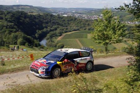 Rally de Alemania 2010: Dani Sordo coge ritmo y aguanta los envites de Sébastien Loeb