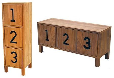 Muebles troquelados de Karin Mannerstal