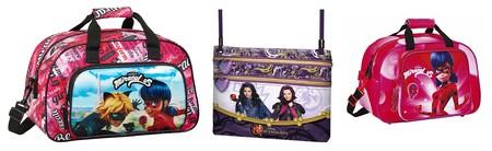 Tres ofertas en bolsas de viaje y bandoleras de Lady Bug y Los Descendientes en Amazon