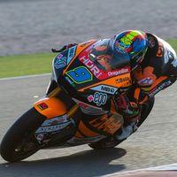 Jorge Navarro despide la pretemporada de Moto2 con el mejor tiempo de la semana por delante de Jorge Martín