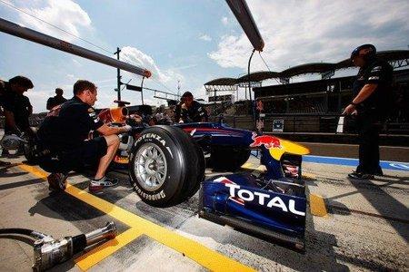 Continúan las dudas sobre la flexibilidad del alerón delantero de Red Bull