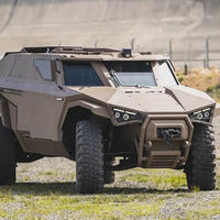 El todoterreno híbrido eléctrico militar Arquus Scarabée parece haberse escapado de un videojuego, pero es muy real