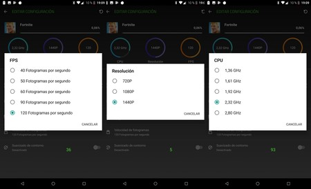 Optimizacion Juegos Razer Phone 2