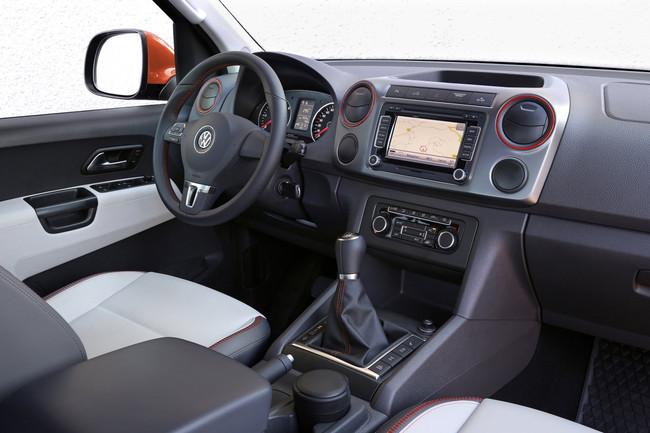 Volkswagen Amarok Canyon, vista interior