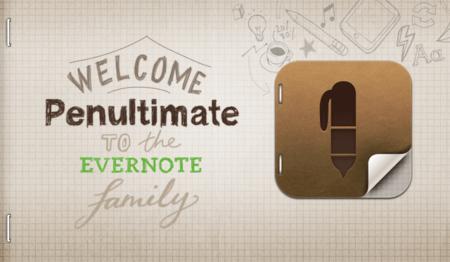 Evernote compra Penultimate para mejorar su tecnología de escritura a mano