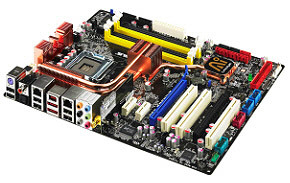 Asus P5K, placa base para overclocking