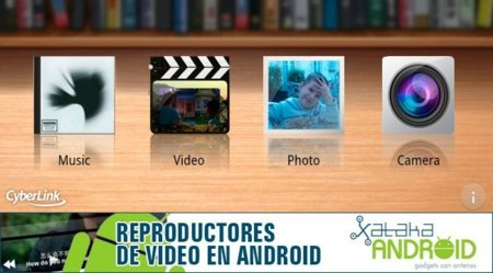 Reproductores de vídeo Android: PowerDVD Mobile