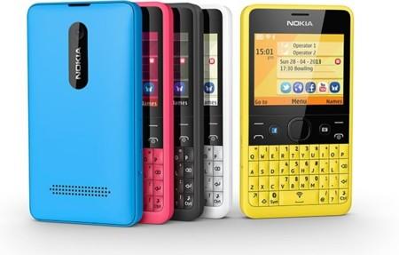 Nokia Asha 210, un colorido teléfono enfocado a las redes sociales
