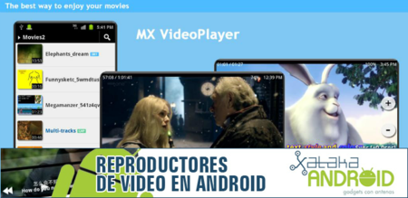 Reproductores de vídeo Android: Mx Video Player