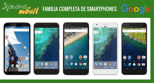 Así queda el catálogo completo de smartphones de Google
