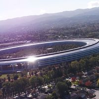 Después de las vistas de drone, es el momento de ver en vídeo el Apple Park subterráneo