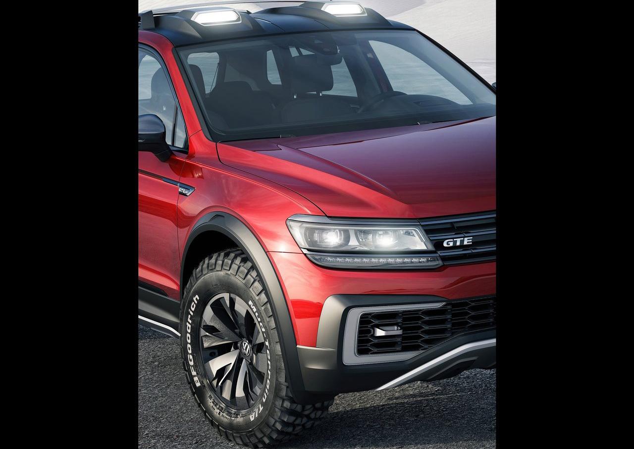 Foto de Volkswagen Tiguan GTE Active Concept (6/17)
