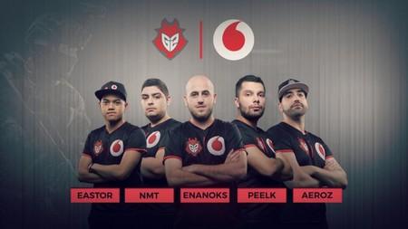 G2 Vodafone mantiene la confianza en sus jugadores de CS:GO y no realizará ningún cambio