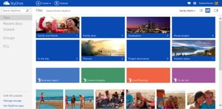 Microsoft sigue su racha de rediseños: es el turno de SkyDrive