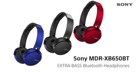 Auriculares Bluetooth Sony MDR-XB650BT ahora por 69 euros y envío gratuito