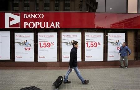 Una Oficina Del Banco Popular Barcelona