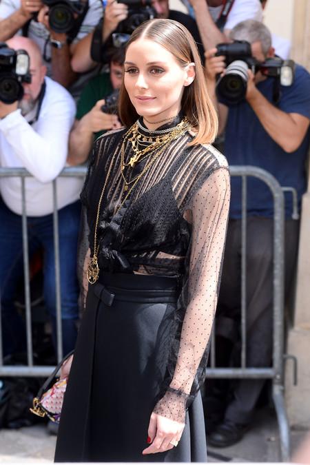 Olivia Palermo y Chiara Ferragni capitanean la primera fila del desfile de Alta Costura de Dior