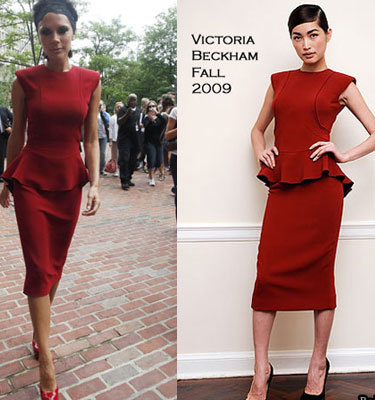 El look de Victoria Beckham en Boston