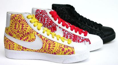 Nike Blazer, zapatillas con graffiti
