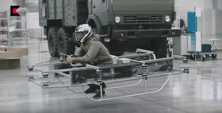 Kalashnikov vehículo volador