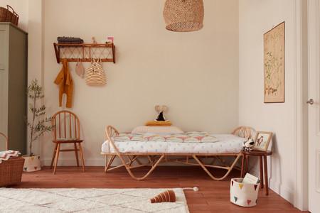 Zara Home nos propone habitaciones infantiles en las que el ratán es el rey (con permiso de los niños)