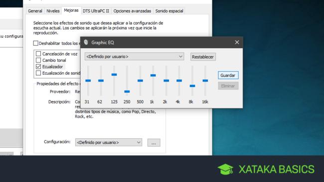 Cómo ajustar a tu gusto el sonido de Windows 10 con su ecualizador secreto