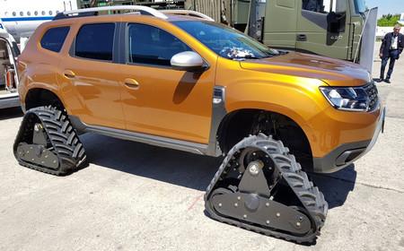 El nuevo Dacia Duster ya puede equipar orugas, gracias a la compañía rumana ACF Track