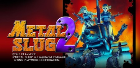 Metal Slug 2 ya a la venta en Google Play