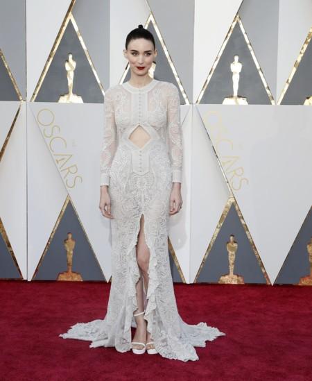 Rooney Mara encandila con su original recogido en los Oscar 2016