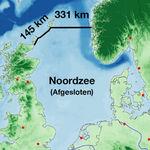Una megapresa entre Escocia y Noruega: la idea de un científico frente al aumento del nivel del mar