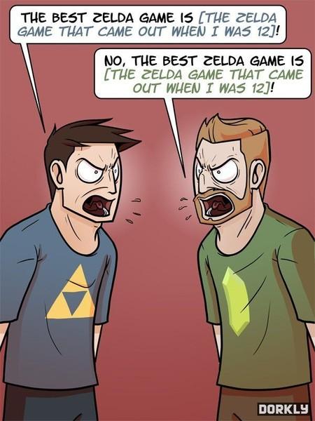 El mejor The Legend of Zelda, según Dorkly