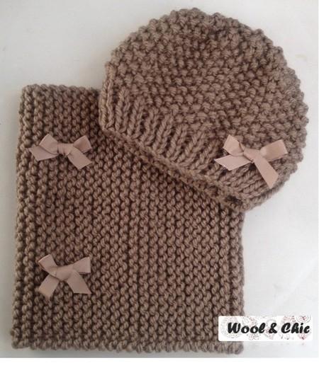 Wool&Chic es una marca de complementos de punto hechos a mano