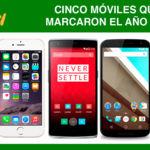 Cinco móviles que marcaron el año 2014