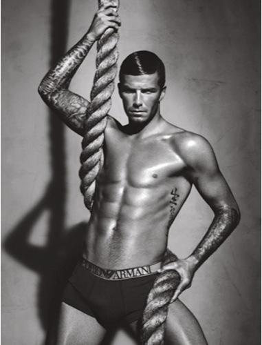 La nueva campaña de David Beckham para Emporio Armani underwear