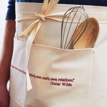 Paños y delantales de cocina para amantes de la literatura