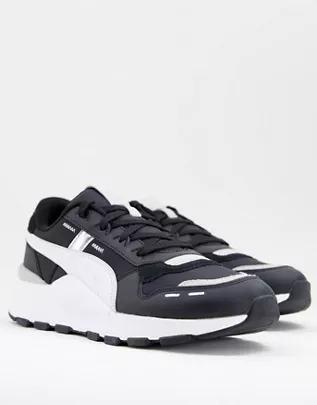 Zapatillas de deporte blancas y negras RS 2.0 Futura de PUMA