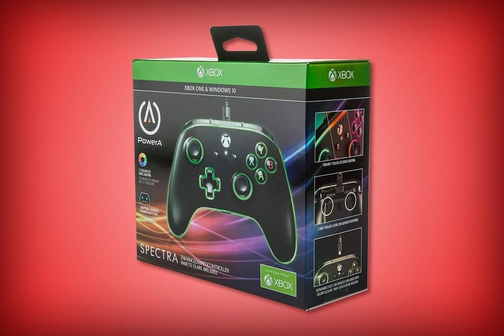 Este control Spectra para Xbox de PowerA tiene luces LED y botones programables: disponible de oferta en Amazon México por 749 pesos