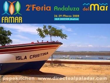 Feria Andaluza del Mar en Isla Cristina (Huelva)